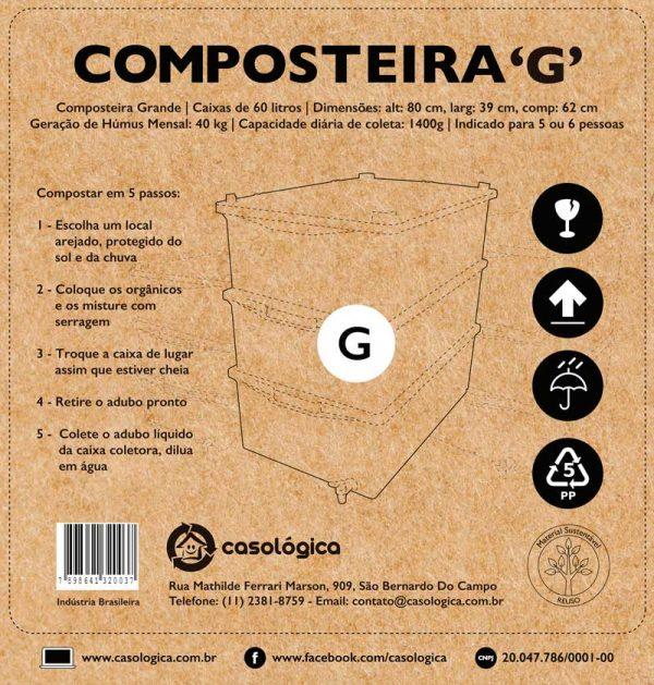 Caixa da Composteira G