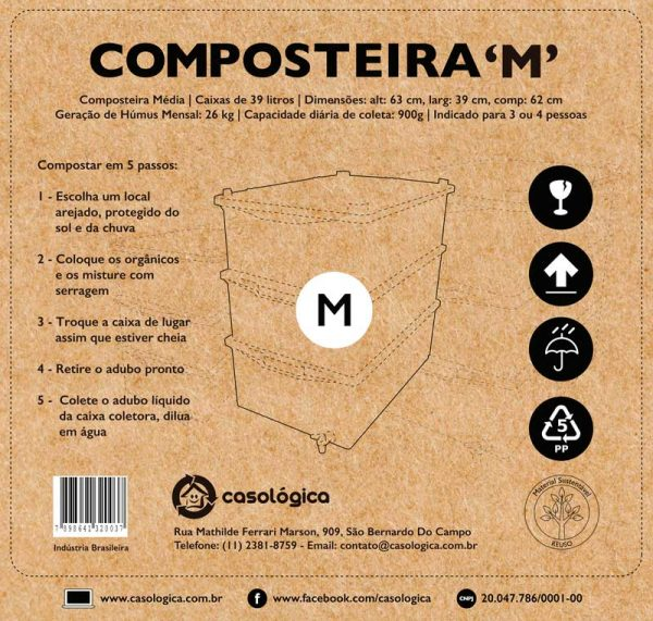 Caixa da Composteira M