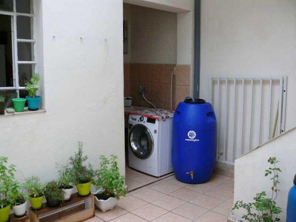 Eco Tanque 240 litros Acoplado na Máquina de Lavar