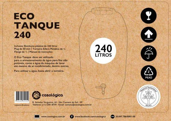 Embalagem Eco Tanque 240