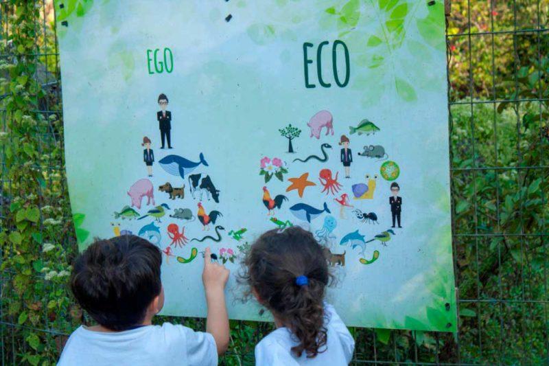 Placa Estação Ecologia
