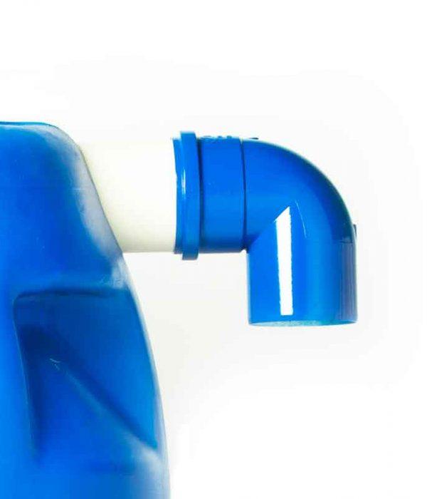 Saída de água do Kit Mini Cisterna