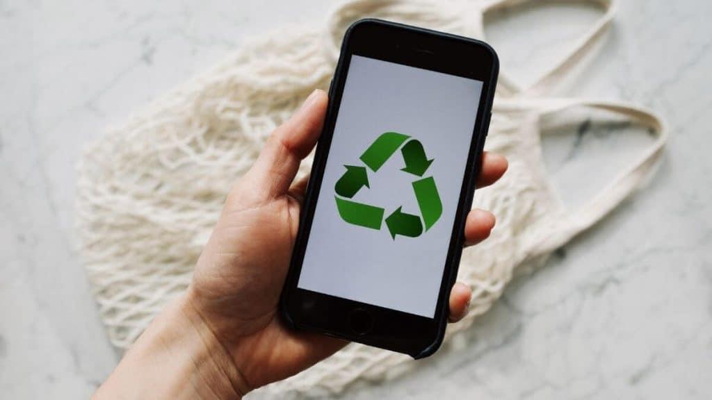 Sustentabilidade para trocar de aparelho celular